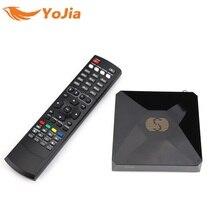 10pcs DVB-S2 S-V6 Digital Satellite Receiver with 2 USB port Support Xtream TV NOVA Wheel TV WEB TV Youtube USB Wifi