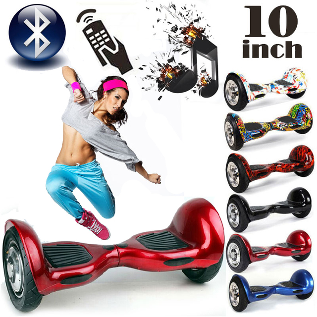 Aliexpress Com Buy 10 Inch Hoverboard With Bluetooth