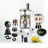 220V Multifunctional Full Automatic Electric Juicer Fruit Juicer Machine Grinder Mixer Vegetable Slicer Powder Grinder EU