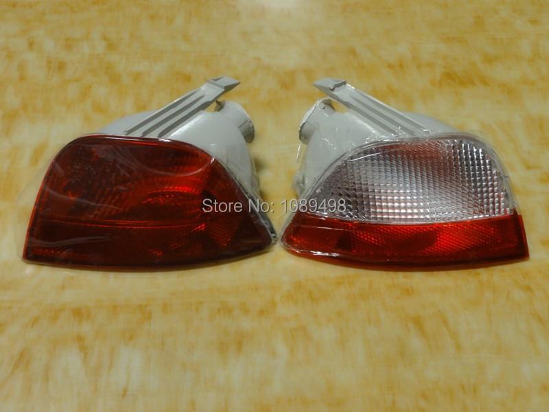 2 шт. / Пара задний бампер противотуманные фонари задний противотуманный фонарь для Ford Focus 2 2005-2008 пятидверный