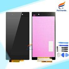 100% garantie ersatzteile für sony z ultra xl39h c6802 c6806 c6833 lcd display mit touch digitizer montagewerkzeuge