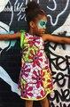 Глобальный Любовник Горячая 2016 Принцесса Девушки Партия носить Лето Африканская одежда Плюс Размер Африканской Печати Одежда Dashiki Одежду для Малыша
