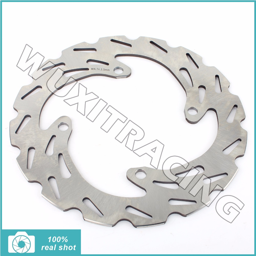 Motor 240mm New Rear Brake Disc Rotor for KAWASAKI KX 125 250 03 04 05 06 07 08 KX F 250 450 04-13 KLX R 450 07-09 10 11 12 13 mfs motor motorcycle part front rear brake discs rotor for yamaha yzf r6 2003 2004 2005 yzfr6 03 04 05 gold