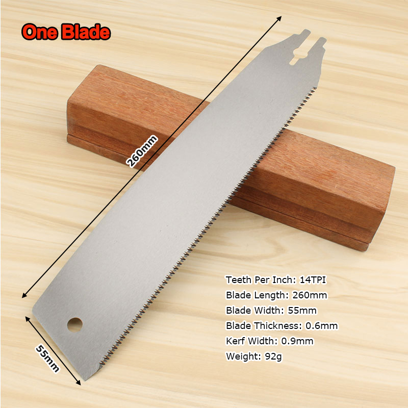 Saw Blade Fine Teeth Three Times Faster Wood Working Hand Saws Steel Slim Tenon Fine Tooth Hacksaw