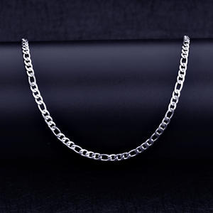ANGELTEARS Stainless Steel Chain Necklace Men's Jewelry