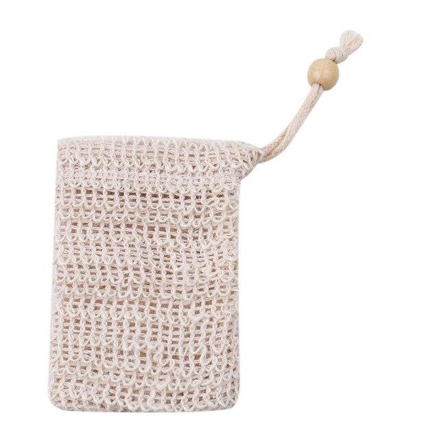 1 pz Sapone bolla maglia a doppio strato di sapone netto Schiuma Netto facile bo