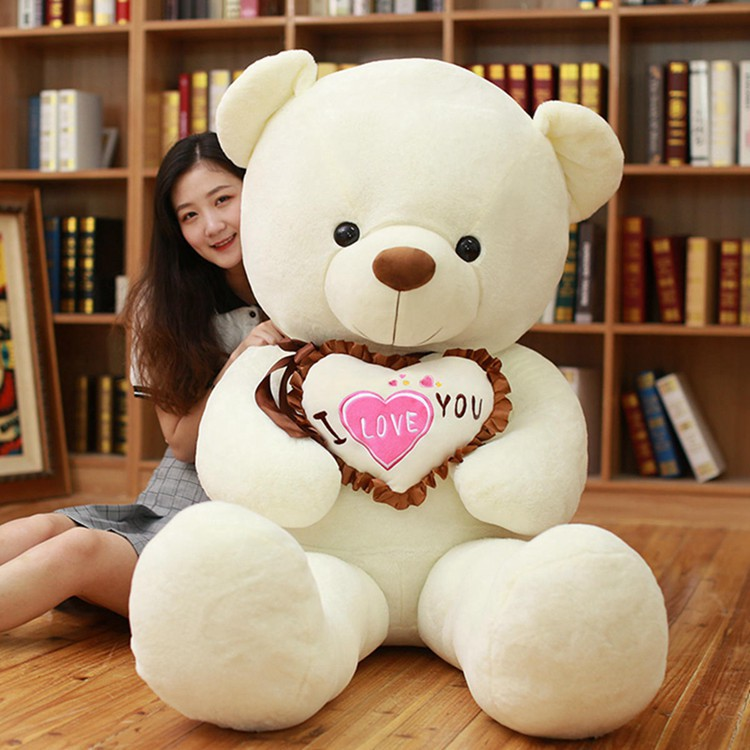 huge 160cm hug bear plush toy heart i love you  teddy bear soft doll sleeping pillow toy birthday gift d0188huge 160cm hug bear plush toy heart i love you  teddy bear soft doll sleeping pillow toy birthday gift d0188