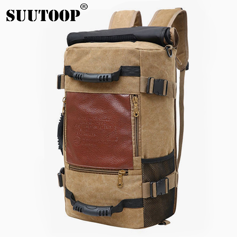 Unisex Men Backpack Travel Pack Sports Bag Pack Outdoor Mountaineering Waterproof Hiking Climbing Camping Backpack For Male 2019