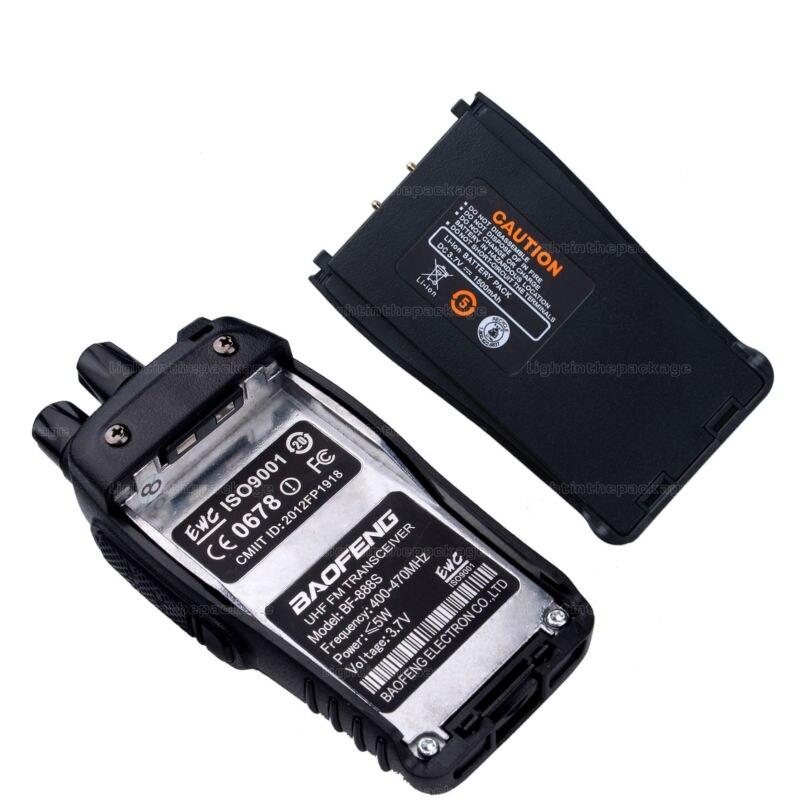 Baofeng BF-888S Walkie Talkie 5W Handheld Pofung bf 888s UHF 5W 400-470MHz 16CH Two Way Portable CB Radio (19)