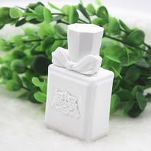 Solid Plaster Perfume bottle mold Creative Soap Mold 3D Clay Craft Bath Making Silicone Molds