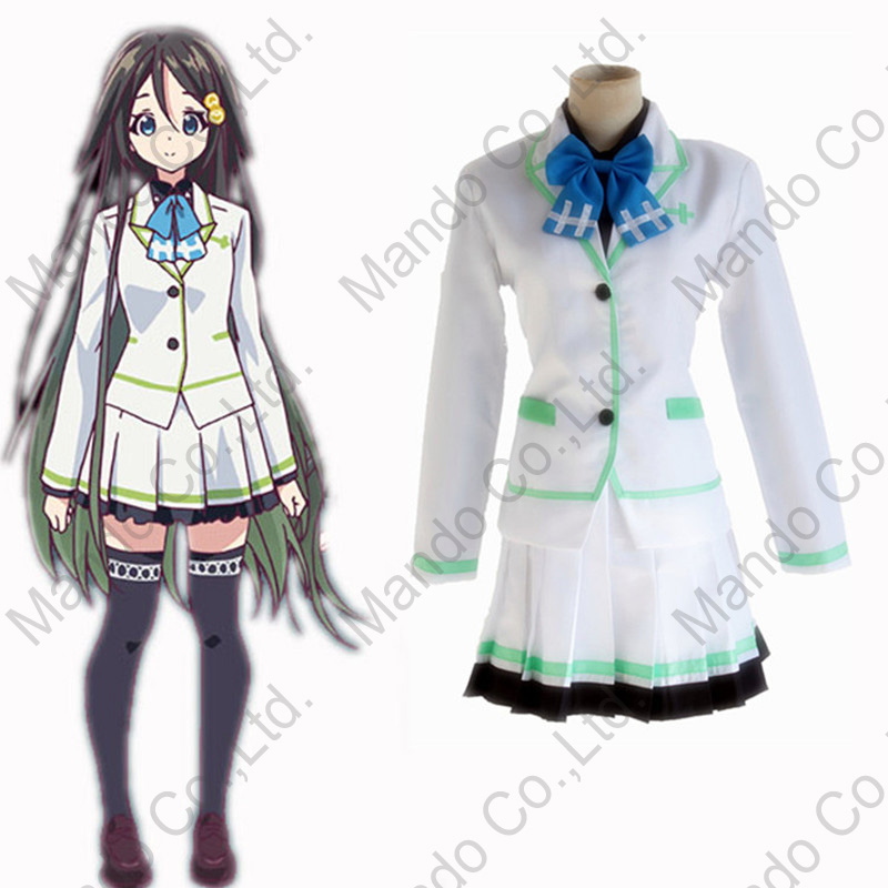 Anime Myriad Colors Phantom World Izumi Reina Cosplay Costume Girls School Students Uniform women halloween outfit