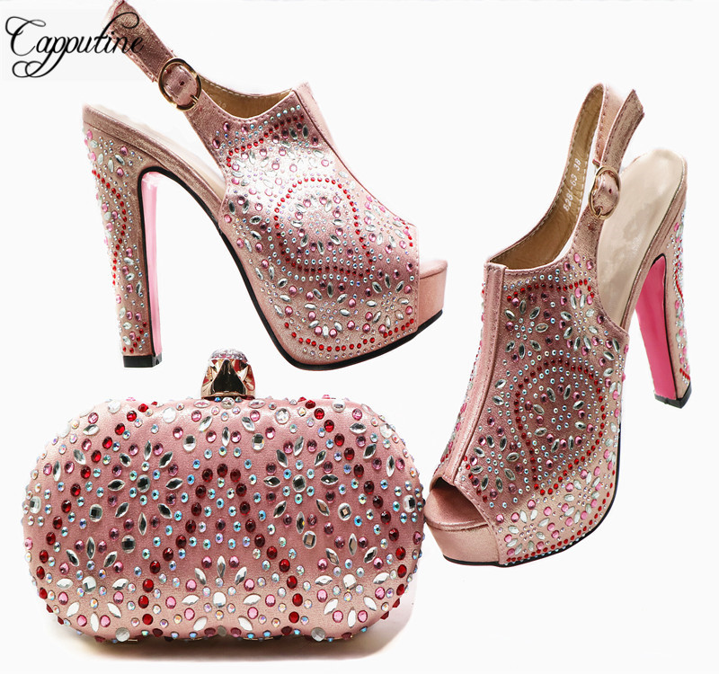 D'été G53 Royal Mariage rose Style Stock pourpre wine Sur fruit Chaussures D'embrayage Confortable Ensemble Mode Green Sac or Italien Blue Design Et De Élégant Db2WHIeE9Y