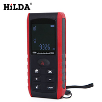 HILDA High Precision Laser Rangefinder Handheld Laser Distance Meter Range Finder Area Volume Measure With 40