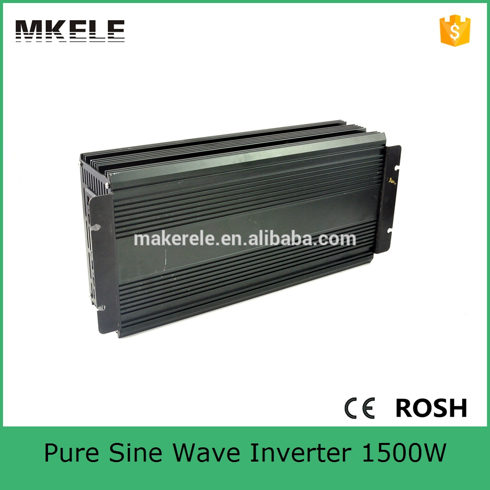 цена на MKP1500-122B 1500 watt inverter 12v to 240v inverter home power inverter 1500 watt single output pure sine wave inverter