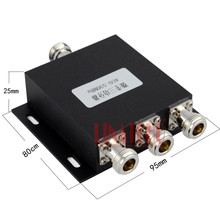 3 Way 450MHz RF UHF Power Splitter 400-500MHz UHF two-way radio 3 way power divider CDMA 450MHz Repeater