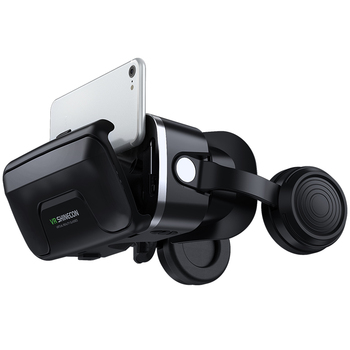 VR Shinecon 10.0 Helmet 3D Glasses Virtual Reality Casque For Smartphone Smart Phone Goggles Headset Viar Video Game Binoculars 4