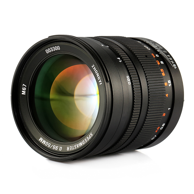 Zhongyi Mitakon 50 mm F / 0.95 lente primera para Sony fotograma ...