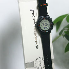 Azan clock Automatic Black Color Russian top selling azan alarm watch for islamic prayer time Azan Watch Prayer clock