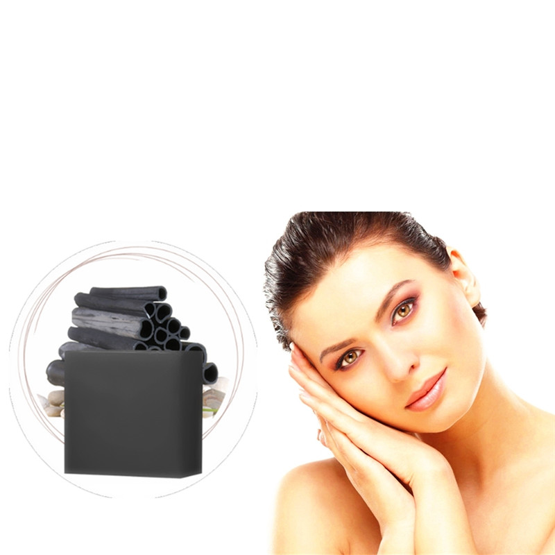 DISAAR New Bamboo Charcoal Acne Treatment Nose Nosewing Blackhead Pore Grease Dirt Suction Black Deep Cleansing Handmade Soap