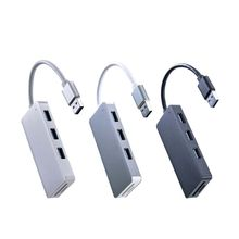цена на USB 3.0 3-Port Aluminum Hub with 2-Slots SD/TF Card Reader Combo for MacBook iMac Lenovo Laptop PC Computer