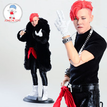 Limited Stock 1/6 Scale Asia Korea Super Star G DRAGON Male Singer Action Figure Collections Children Gift