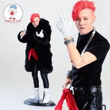 Stock limitado 1/6 escala Asia Corea Super estrella G DRAGON cantante masculino acción figura colecciones niños regalo