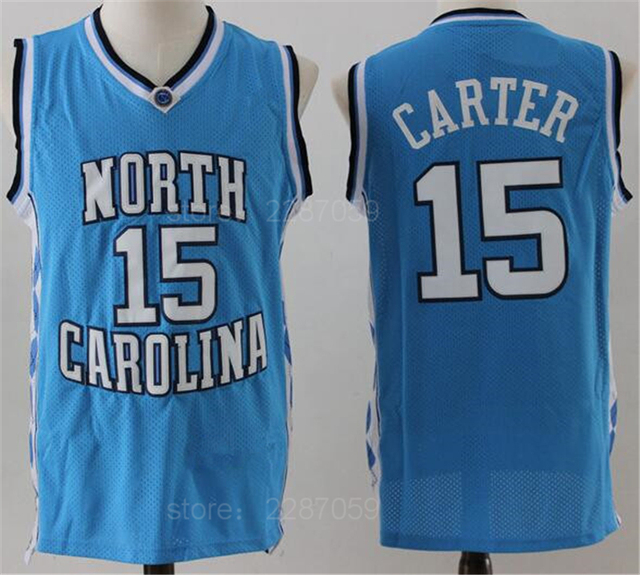 ediwallen cheap 15 vince carter north carolina tar heels jerseys college basketball men carter jerse