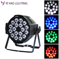 Aleacion aluminio 18x12 W RGBW 4in1 LED Par Can dj Par64 spotlight proyector wash