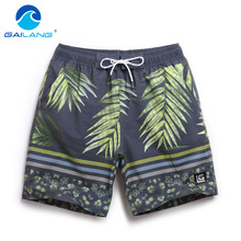 Gailang Brand Summer Beach Shorts Board Quick Dry Casual Men's Trunks Big Size XXXL