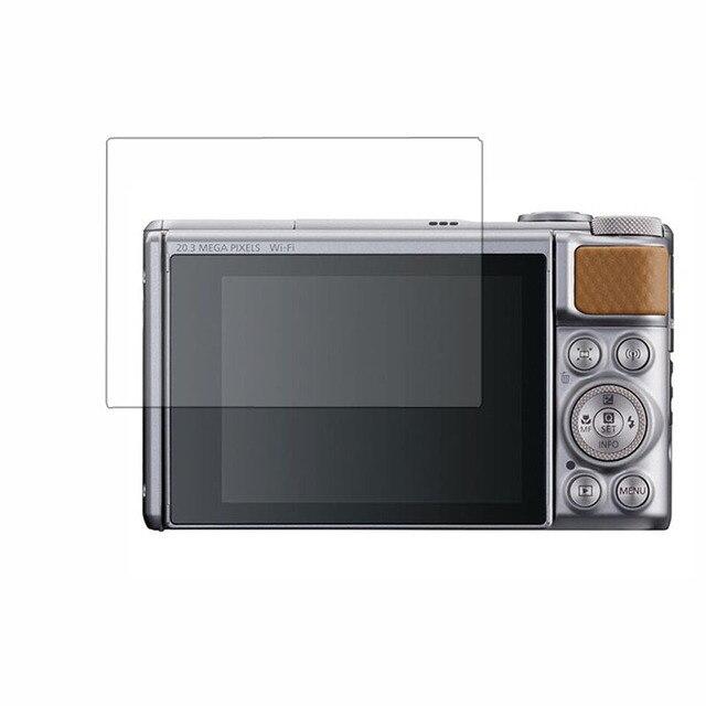 واقي للشاشة من الزجاج المقسى لكانون باور شوت SX730/SX740 HS sx730hs sx740hs كاميرا شاشة LCD طبقة رقيقة واقية