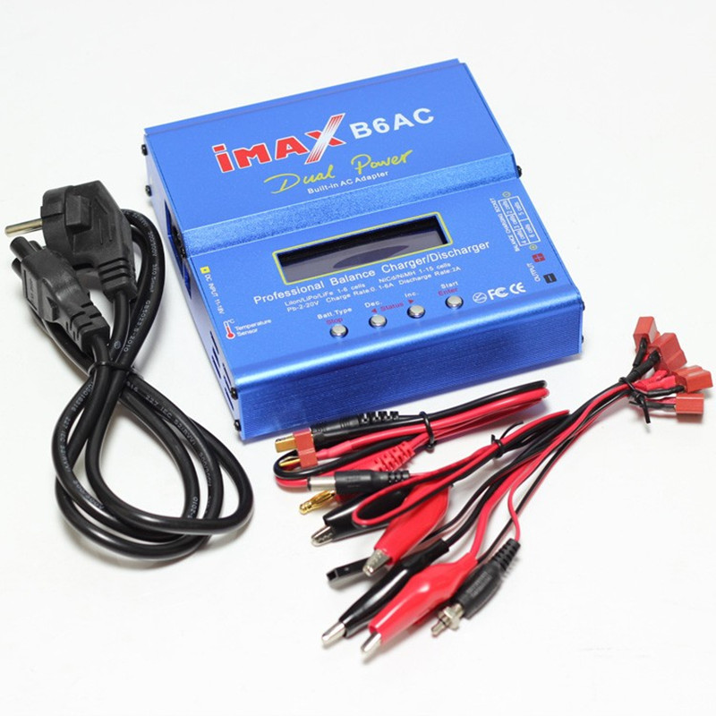B6 B6AC charger Built-in power adapter smart balance charge T plug / Tamiya version for DIY quadcopter lipo-battery