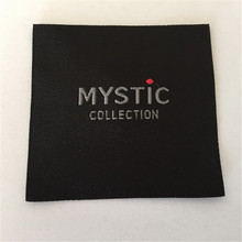 Customized  5.5*5.5CM Square shape Woven Label/Garment Label