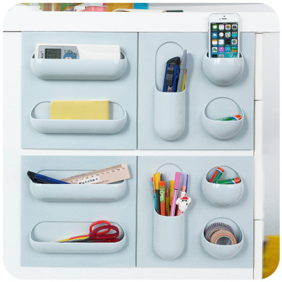 Aliexpress.com : Buy Multifunctional Plastic Bathroom Shelf Adhesive ...
