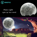 New LED Moon Night Light with Remote Controller Indoor Decoration LED Wall Light Lamp Free Shipping