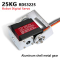 Металлический сервопривод RDS3225  1 шт.  цифровой сервопривод arduino с длинной и короткой прямой u-образной головкой