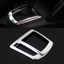 For Mazda CX5 CX-5 2013 2014 2015 2016 Accessories Shift Knob Panel Decoration Cover Trim ABS Chrome (Only Left-Handed Driving)