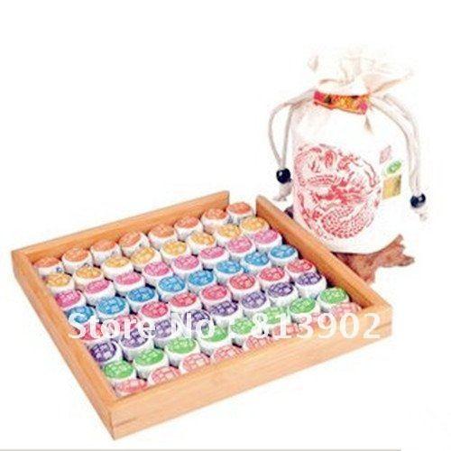 Do promotion, Free shipping 81pcs 9 kinds Flavor Pu er ,Pu'erh tea yunnan Puer tea Chinese tea 450g
