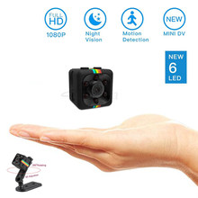 Roreta SQ11 mini camera 1080P HD Sport DV DVR Monitor Concealed camera SQ 11 night vision micro small camera Mini camcorder(China)