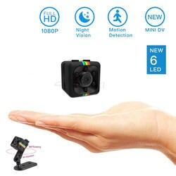 Roreta SQ11 Мини камеры 1080 P HD Спорт DV DVR монитор Скрытая камера SQ 11 ночного видения micro Малый камера мини-камкордер