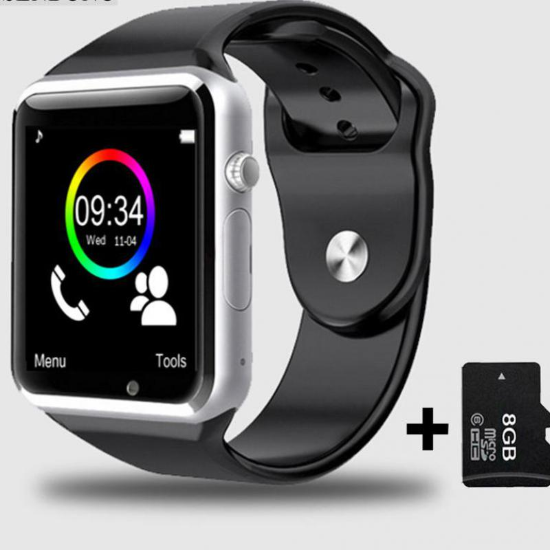 Original cheapest A1 WristWatch Bluetooth Smart Watch Sport Pedometer With SIM Camera Smartwatch Android Smartphone Russia