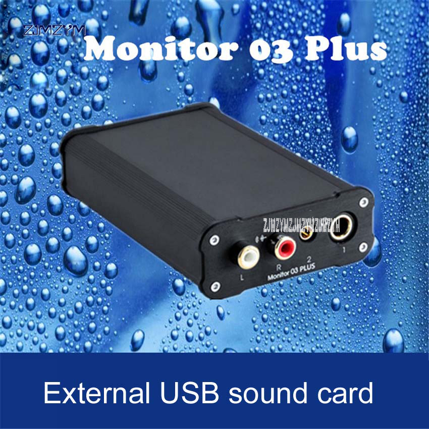1PC New Monitor 03 PLUS CS4398 Sound Card PC HiFi external USB sound card DSD decoder amp USB MAC OS IOS OTG DAC 3.5/6.35mm musiland monitor monitor 04 mx tf card player 32bit 384khz usb dac pc hifi dsd digital stream output usb2 0 3 5mm 6 25mm output