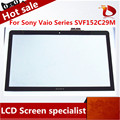 "New free shipping original 15.6"" For Sony Vaio Series SVF152C29M SVF152C29L Touch Screen Panel+Digitizer"