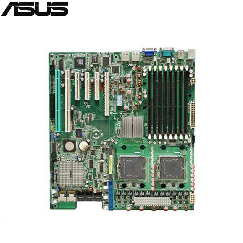 original Used Server motherboard For Asus DSBF-DE/SAS Socket 771 Maximum 8*DDR2 32GB 6xSATAII ATX