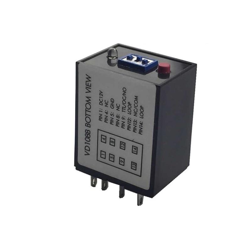 VD108B Single Loop Vehicle Detector For Barrier Gate Parking System TTL Level Output