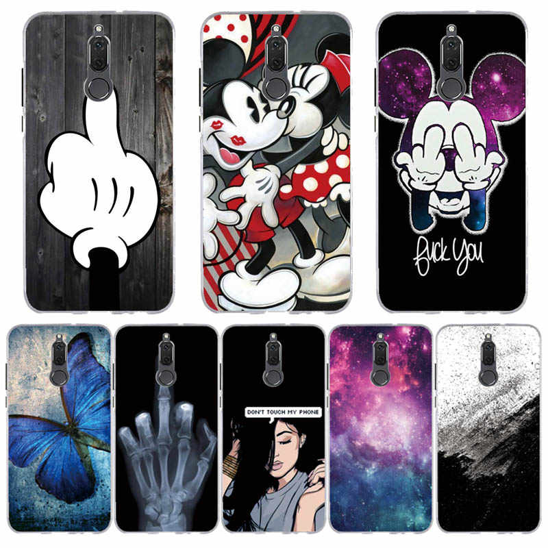 Case For Huawei Mate 10 Lite Case Cover Silicone for Huawei P20 Lite Case Cover For Huawei Mate 10lite Fundas