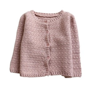 Baby Girls Clothes Sweaters Outerwear Knitted Warm Cardigan Sweater Coat Long Sleeve Autumn Winter Outwear(China)