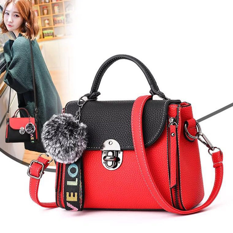 New Fashion Design PU Leather Women Handbag Female Shoulder Bag Girls Messenger bag Casual Women Bag high quality hotsale ladies