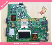 Laptop mainboard k54ly main board rev2.0/rev: 2,1 fit für asus k54ly k54hr x54h notebook pc