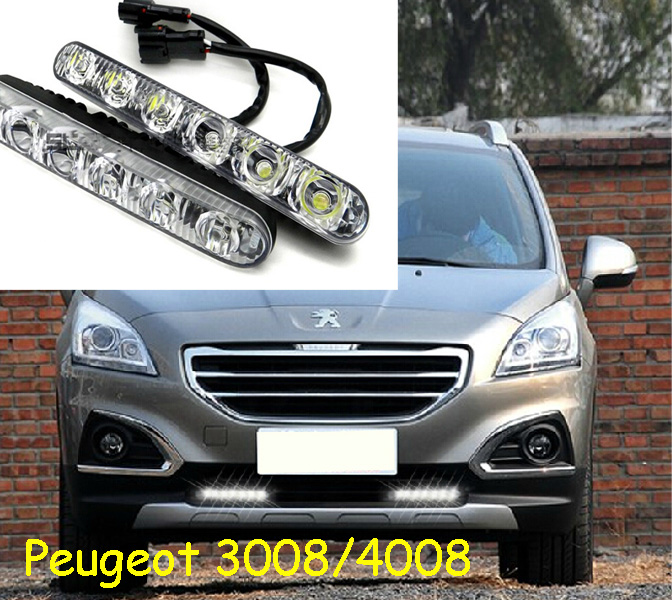 RCZ,LED,2008 408,Peugeo 3008 4008 daytime Light,301 206 207 fog light,308 headlight,508 taillight,407,4007