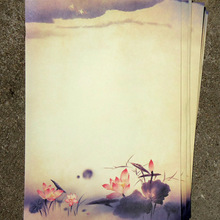 Souvenir Letter-Pad/paper Ink-Painting Gift Writing-Paper Traditional Vintage Chinese